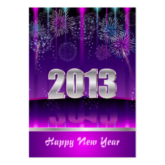 Card Happy New Year Business Card Template