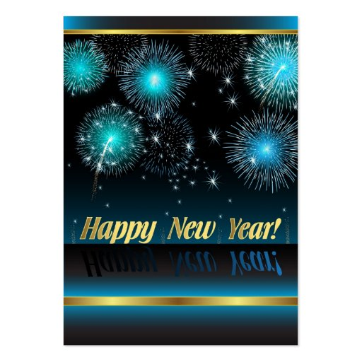 Card happy new year large business cards pack of 100 for New business cards