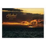 Card: Hawaii Sunset