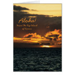 Card: Hawaii Sunset (Portrait)