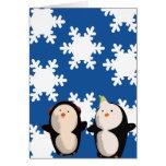 Card (HB) - Let it Snow Penguins