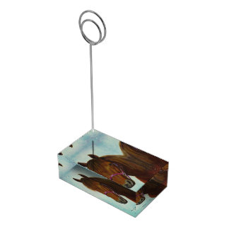 Card Holder for table, Chichi, a Bay Paso Fino Table Card Holders