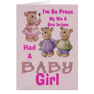 card_horizontal_back I'm So Proud - Babby Girl Card