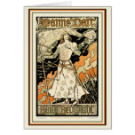 Card:  Jeanne d'Arc, Sarah Bernhardt