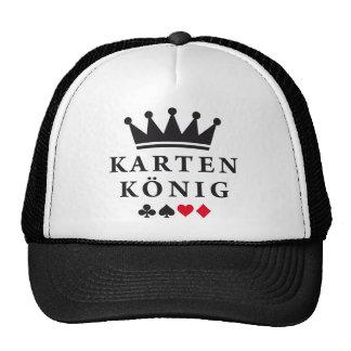 card king mesh hats