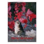Card / Largemouth Bass Merry Christmas!