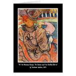Card:  Lautrec - French Art - Nouveau Cirque