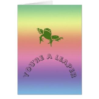 Card - Leaper Birthday