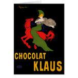 Card: Leonetto Cappiello - Chocolat Klaus