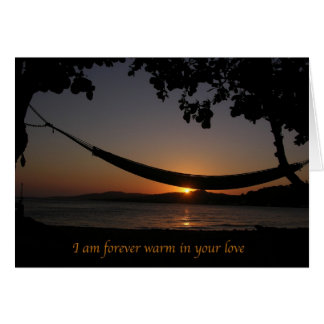 Card - Love - Forever Warm