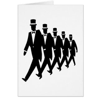 Card: March of the Tuxes Card