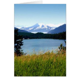 Card: Mendenhall Lake and Glacier