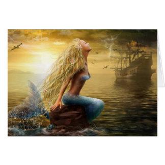 Card Mermaid (option2) Greeting Card