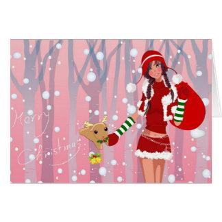 """Card """"Merry Christmas """""""