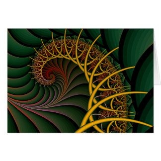 Card: Nautilus Inner Float Chambers Greeting Card