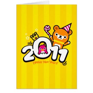 card New Year 2011