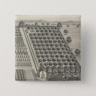 Card Nursery, Woodland Button