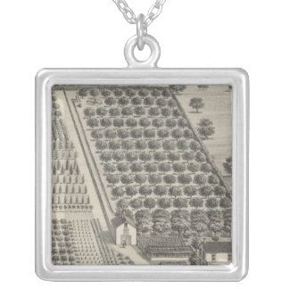 Card Nursery, Woodland Silver Plated Necklace