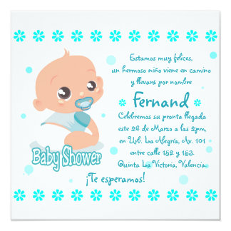 Card of Baby Shower (Young)