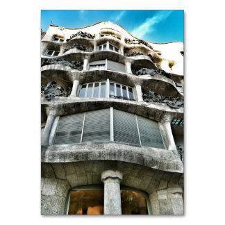 Card of the Stone quarry of Antoni Gaudí