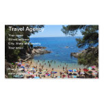 card of travel agency Double-Sided standard business cards (Pack of 100)