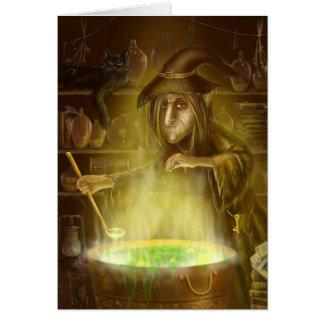 Card  Old witsh