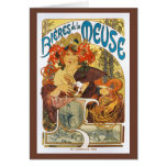 Card or Invation - Vintage Mucha