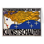 Card or Invitiation: Kunstschau Wien (Art Show)