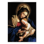 "Card ""Ours Lady and boy Jesus """