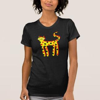 Card patteren cat T-Shirt