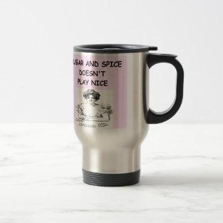 card player 15 oz stainless steel travel mug