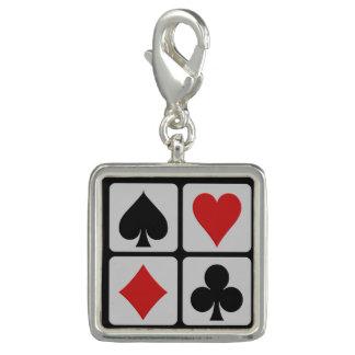 Card Player charm / bracelet