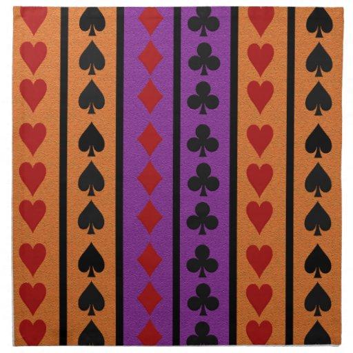 Card Player cloth napkins