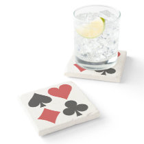 Card Player coaster