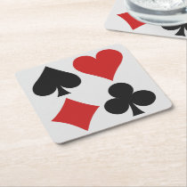 Card Player coasters