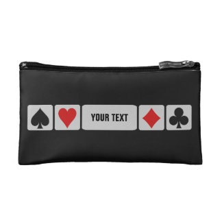 Card Player custom accessory bags