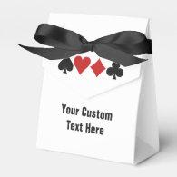 Card Player custom favor box