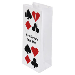 Card Player custom gift bags