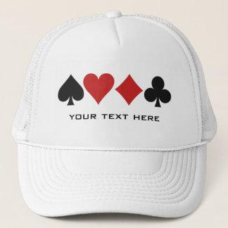 Card Player custom hat