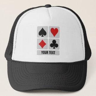 Card Player custom hats