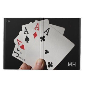 Card Player custom monogram device cases