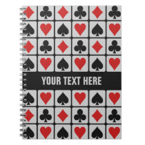 Card Player custom notebook