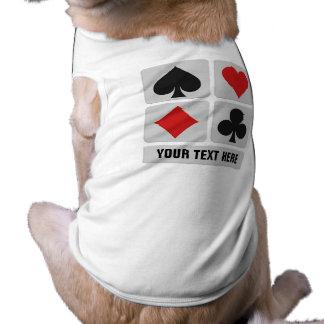 Card Player custom pet clothing