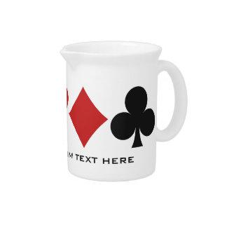 Card Player custom pitcher