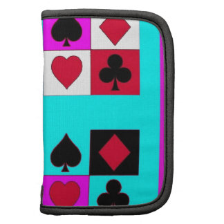 Card player in Turquoise & Fushia by Sharles Organizers