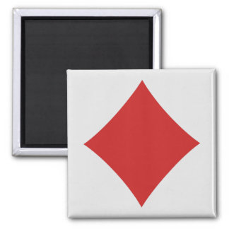 Card Player magnets - Diamond