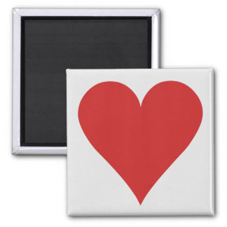 Card Player magnets - Heart
