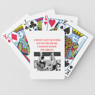CARD player Bicycle Poker Cards
