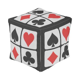 Card Player poufs