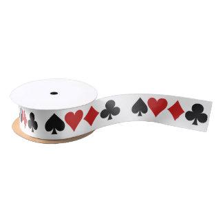 Card Player ribbon Satin Ribbon